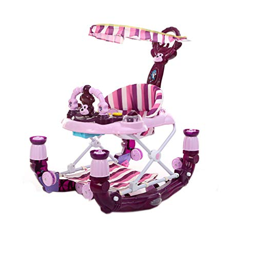 Find Bargain NYANGLI Baby Walker,6-18 Month Child Trolley,Toy Rocking Horse with Music Box+Comfort C...