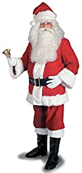 Rubie's Costume Men's Super Deluxe Santa Suit