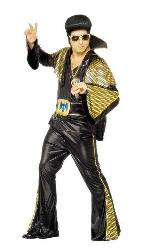 Smiffys - Disfraz de Elvis Presley™ para hombre, talla M (48/50)