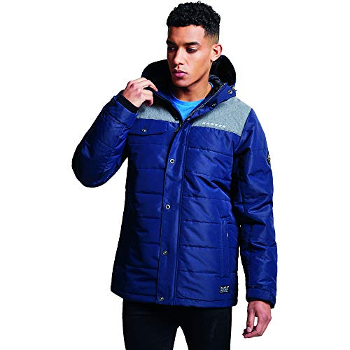 Dare 2b Level Up Jackets Waterproof Insulated Homme, OuterB/Aster, FR (Taille Fabricant : XS)