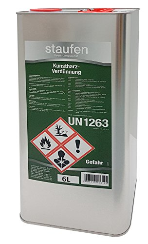 Staufen Kunstharz Verdünnung 6 Liter Kunstharzverdünnung Farben Lacke