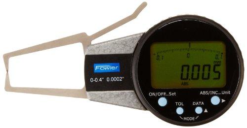 Fowler 54-554-711 External Electronic Caliper Gage, 0-0.400