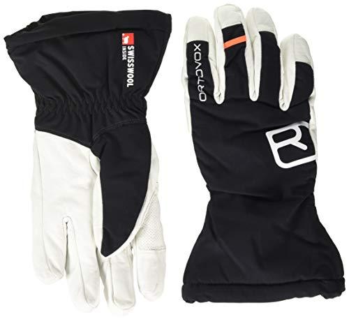 ORTOVOX Herren Swisswoll Freeride Handschuhe, Black Raven, L