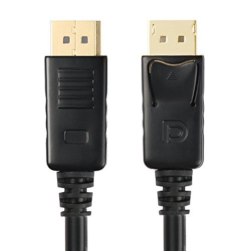 Postta DisplayPort to DisplayPort Cable(6 Feet)Gold Plated DP to DP Support 4K Resolution
