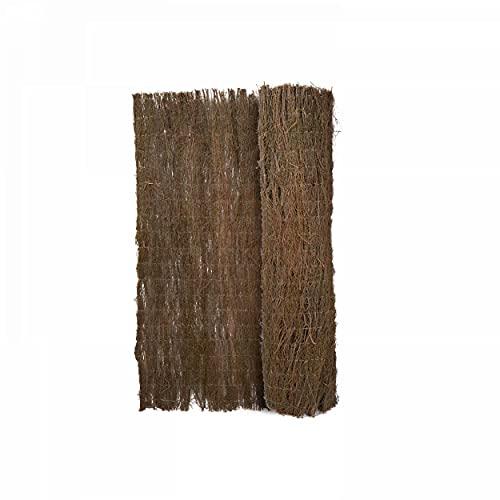Oviala Brise Vue Brande de bruyère Marron Rectangulaire 500 x 100 cm Bois Lauzelle