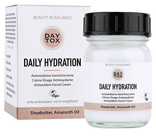 DAYTOX - Daily Hydration - Antioxidant Cream with Shea Butter, Amaranth Oil...