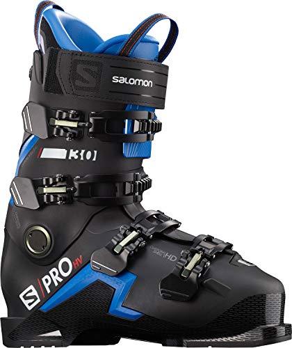 Salomon Herren Botas ALPINAS S/PRO HV 130 Ski-Stiefel, Black/Race B, 41 EU