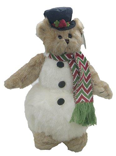 Collectible Christmas Teddy Bear by The Bearington Collection (Snowden)
