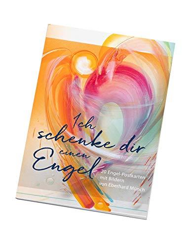 Ich schenke dir einen Engel - Postkartenbuch: 20 Engelpostkarten (Edition Eberhard Münch)