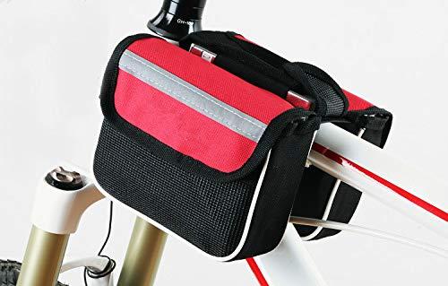 Bolsa portaherramientas para debajo delantero sillin con velcros bici bicicleta