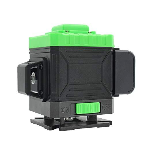 Jesus Love You lasernivelleringslijn, 3D-laser, 12 lijnen, groen licht voor buiten, hoge precisie, wandinstrument (zonder batterij)