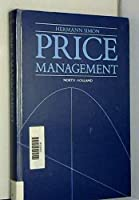 Price Management 0444873279 Book Cover