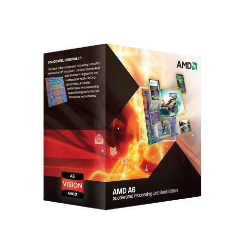 AMD A6 3670K Prozessor (2,7GHz, 4MB Cache, Sockel FM1, 100 Watt)