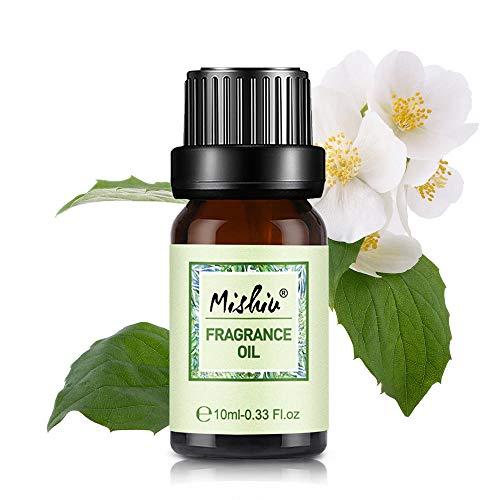 Mishiu Aceites Fragancia Aromaterapia 100% Natural Orgánico Puro Aceite Esencial de 10ML - Neroli dulce