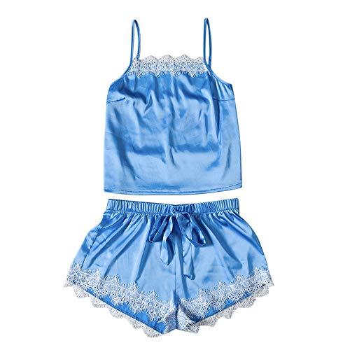 Mymyguoe Damen Mode Sexy Negligee Set Lace Sleepwear Dessous Versuchung Babydoll Unterwäsche Nachthemd Morgenmantel Sleepwear Wäsche Set