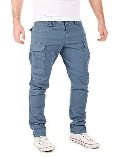 Yazubi Pantalones Cargo de Los Hombre Slim Militar Algodón Jayden