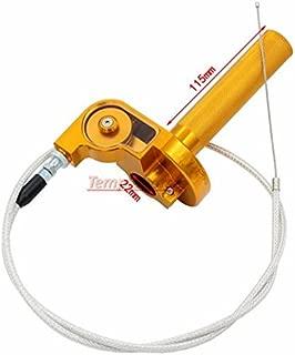 Templehorse Universal Aluminum 7/8'' Throttle Grip Quick Twister + Throttle Cable CRF50 70 110 125 250 Dirt Pit Bike