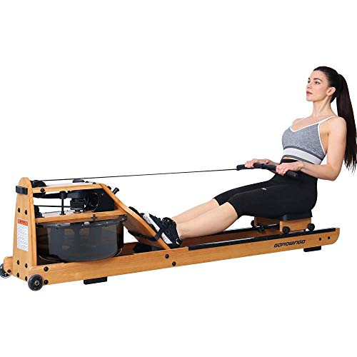 GOROWINGO Water Rowing Machine
