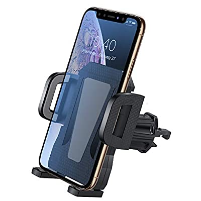 Air Vent Phone Holder for Car,Miracase Upgraded Universal Car Phone Holder Cradle with One-Touch Design for iPhone XR/XS Max/XS/X/8/8 Plus/7/7 Plus,Galaxy S10/S10 Plus/S9/Note 9,Google and More