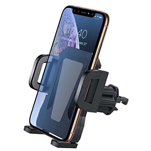 Air Vent Phone Holder for CarMiracase Handsfree Universal Car Phone Mount Cradle with Adjustable Clip Compatible with iPhone XR/XS Max/XS/X/8/8 P/7/7 PGalaxy S10/S10 /S9/Note 9 and MoreGray