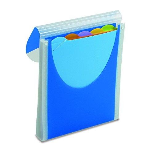 Wilson Jones Big Mouth Filer, Vertical Orientation, Dark Blue (W68583)