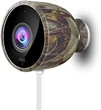 Silicone Skins Protective Case for Nest Cam Outdoor Security Camera - Protect and Camouflage Your Nest Cam Outdoor with These UV Light- and Weather Resistant Silicone Skins (1 Pack, Camouflage)