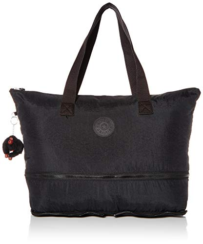 Kipling Women's Imagine Foldable Tote Bag, True Black, One Size