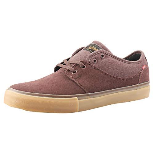 Globe Herren Mahalo Skateboardschuhe, Mehrfarbig (Dark Brown/Gum 000), 39 EU