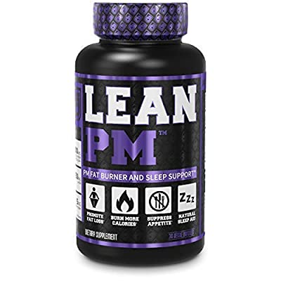 Lean PM Night Time Fat Burner, Sleep Aid Supplement, Appetite Suppressant for Men and Women