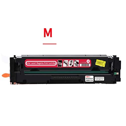 Cartucho de tóner 202A Compatible con láser Jet Pro M254DW / 254NW M280NW M281FDW / 281FDN Cartucho (con Chip),Rojo