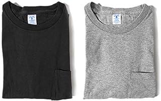 [ベルバシーン] ポケット付き クルーネックTシャツ パックT 2枚セット 半袖Tシャツ (メンズ)