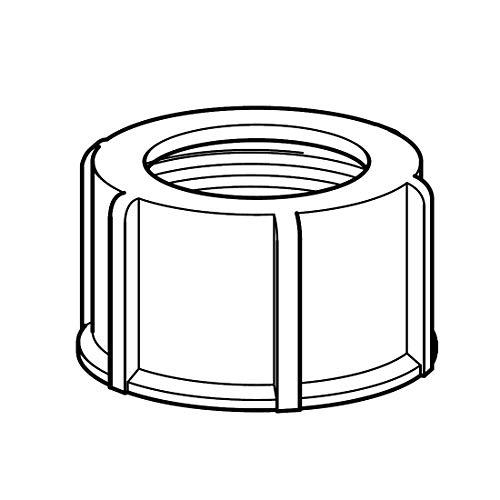 Delschen ܜberwurfmutter Zu 20 / 25 / 30 Kg weiss Sb37100