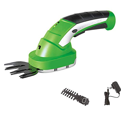 Great Features Of GBB&MYF Cordless Handheld Scissors - Electric Hedge Trimmer Weed or Lawn Clipper 7...