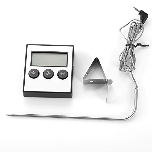Termómetro digital para alimentos EVTSCAN, pantalla digital...