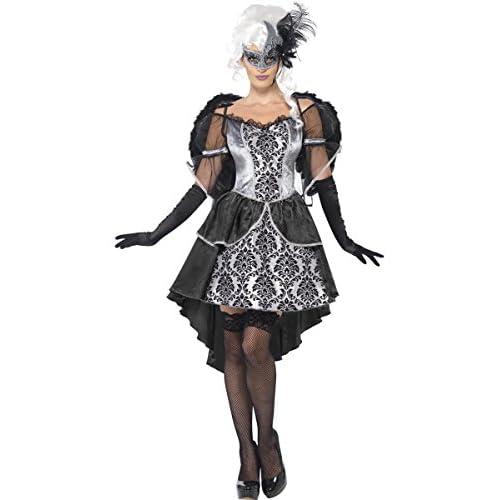 SMIFFYS Dark Angel Masquerade - Halloween per adulti Costume - Piccolo - 8-10