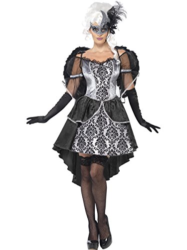 Smiffys Ange foncé Masquerade - Halloween Costume de déguisement - Grand - 44/48
