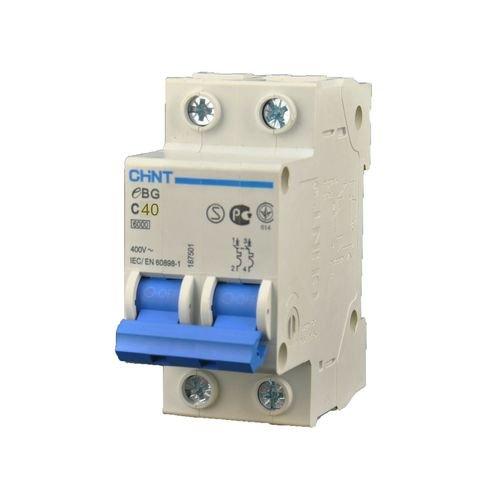 Interruptor automático magnetotérmico EBG - 2P - 40A