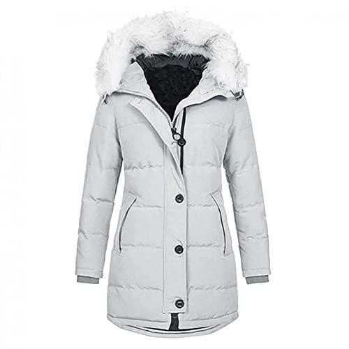 SKYWPOJU Kurtka zimowa damska, płaszcz zimowy damska kurtka bawełniana z kieszenią kurtka zimowa moro Grubsza ciepła zimowa parka parka płaszcz parka rekreacyjna wiatroszczelna wiatrówka chroniąca prz