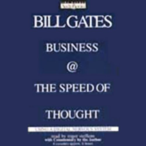 Business @ the Speed of Thought audiobook cover art