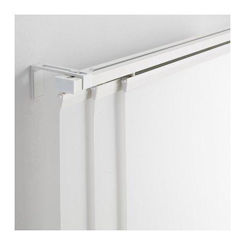 """Ikea Triple curtain rail, white 55 """", 626.29295.2222"""