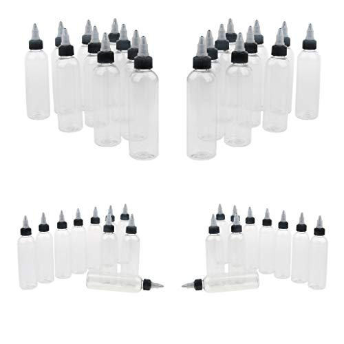 Sharplace 40x Bouteilles de peinture avec embout Applicateur Rotatif 120ml