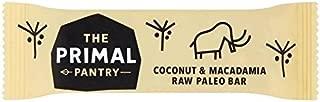 The Primal Pantry Coconut & Macadamia Paleo Energy Bar 45g - Pack of 6