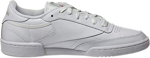 Reebok Club C 85, Deman Niedrig, Elfenbein (White/light Grey), 39 EU