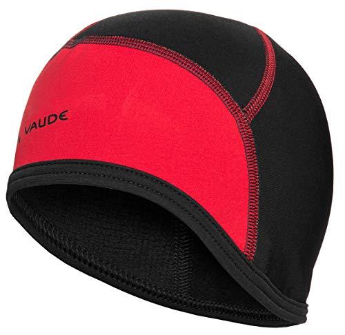 Vaude Bike Casquette Homme Noir/Rouge FR : L (Taille Fabricant : L)