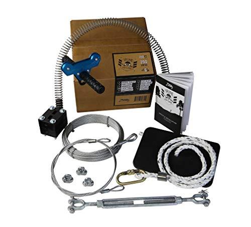 Backyard Ziplines 100 FT Airtime Zip Line Kit
