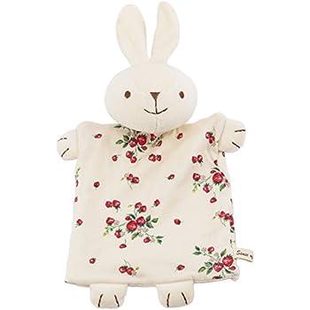 SENSE OF WONDER オーガニックコットン 日本製 野イチゴ ウサギ パペット
