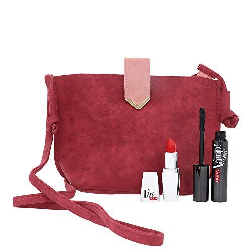 Kit Mascara Vamp! Explosive Lashes + I'm Rossetto 303 PUPA Pochette Limited Edition Make Up Donna Set Set