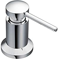 Moen 3942 Deck Mounted Kitchen Soap Dispenser with Above the Sink Refillable Bottle