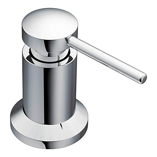 Moen 3942 Deck Mounted Kitchen Soap Dispenser with Above the Sink...