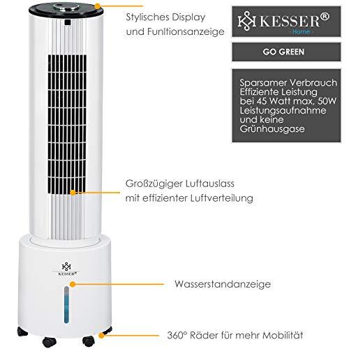 KESSER® Turm 4in1 Klimagerät 6l Erfahrungen & Preisvergleich